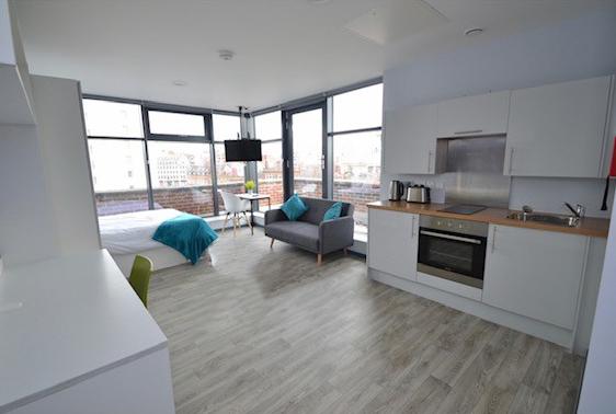 Ensuite Rooms & Studio Flats close to Nottingham Universities