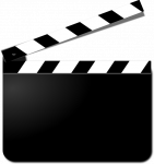 Image of film clapperboard on most employable masters degrees uk