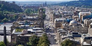 Image of edinburgh waverley on day trips from glasgow