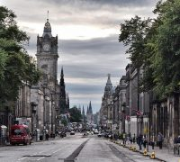 Image of edinburgh waverley on article on best cities in uk for shopping
