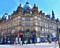 Image of leeds city markets on article best cities in uk for shopping