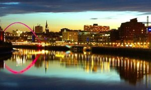 Image of the river tyne on article Best sights in Newcastle